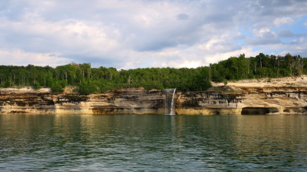Spray Falls, Pictured Rocks National Lakeshore, Michigan