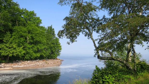 Mouth of the Presque Isle River, Porcupine Mountains Wilderness State Park, Michigan