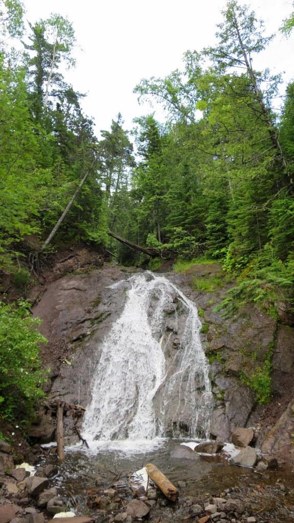 Jacob's Falls, Keweenaw Peninsula, Michigan
