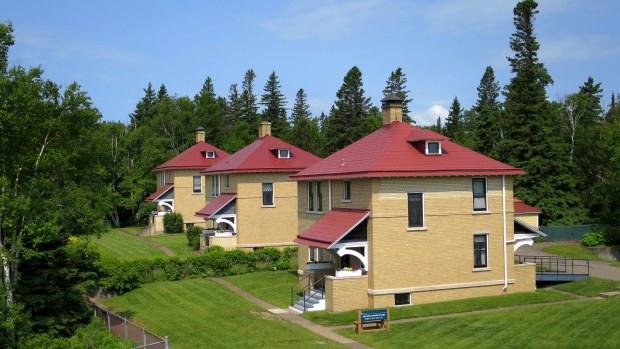 Keepers' houses, Split Rock Lighthouse State Park, Minnesota