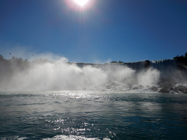 American Falls from Maid of the Mist, Niagara Falls