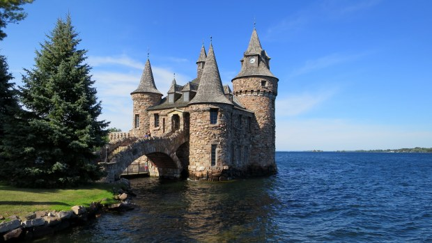 Power House, Boldt Castle, Thousand Islands Region, New York