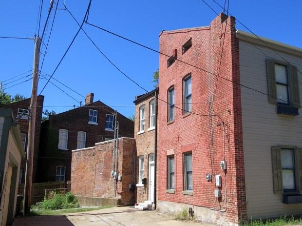 Alley in Soulard, St. Louis, Missouri