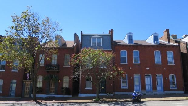 Row houses, St. Louis, Missouri