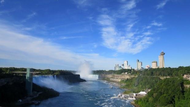 Niagara Falls from International Rainbow Bridge