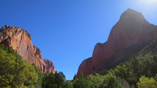 Taylor Creek Trail, Kolob Canyon, Zion National Park, Utah