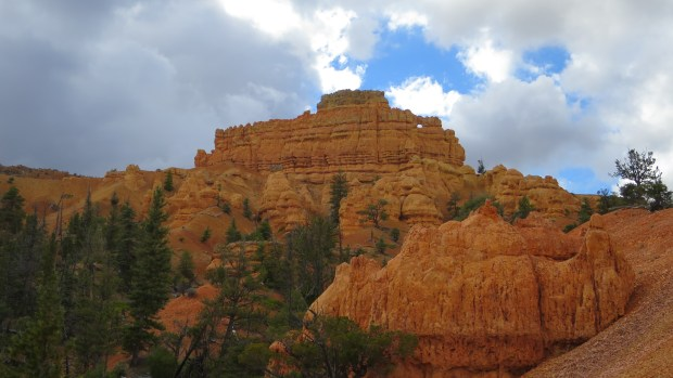 Clouds rolling in on the Buckhorn Trail, Red Canyon, Dixie National Forest, Utah