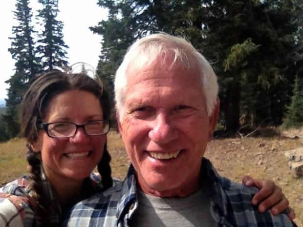Tom and I, Fishlake Mountains National Forest, Utah