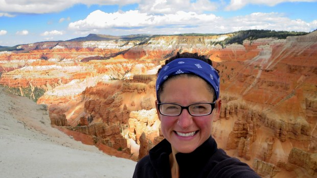Me, Cedar Breaks National Monument, Utah