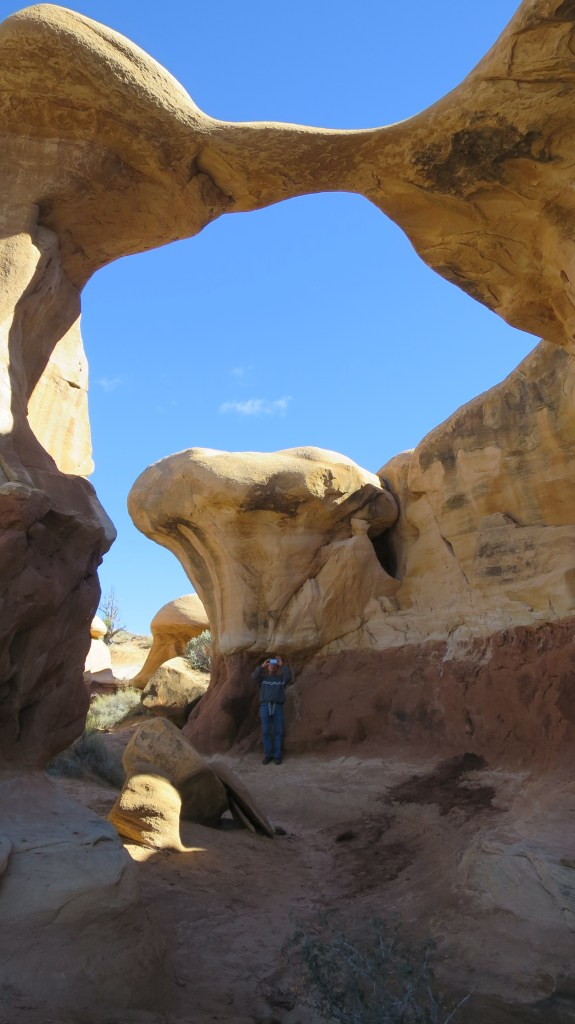 Metate Arch, Devil's Garden, Hole-in-the-Rock Road, Grand Staircase-Escalante National Monument, Utah