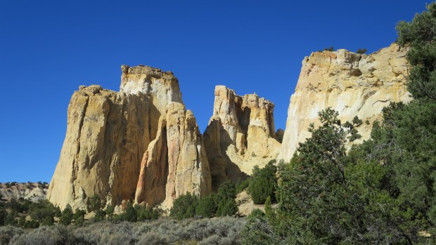 Formation by Grosvenor Arch, Grand Staircase-Escalante National Monument, Utah