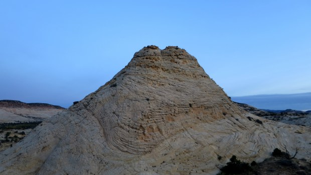 Before sunrise on the Burr Trail, Grand Staircase-Escalante National Monument, Utah