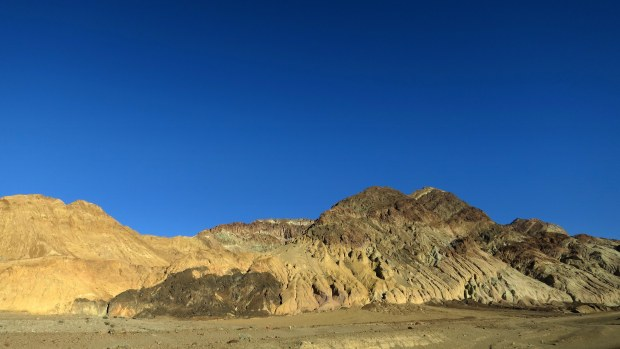 Near mouth of Desolation Canyon, Death Valley National Park, California