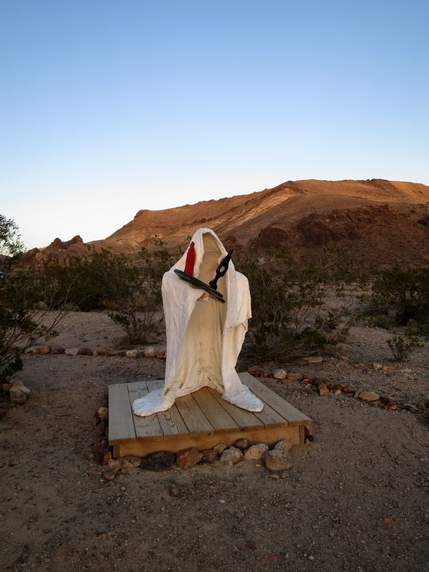 Goldwell Open Air Museum, near Rhyolite, Nevada