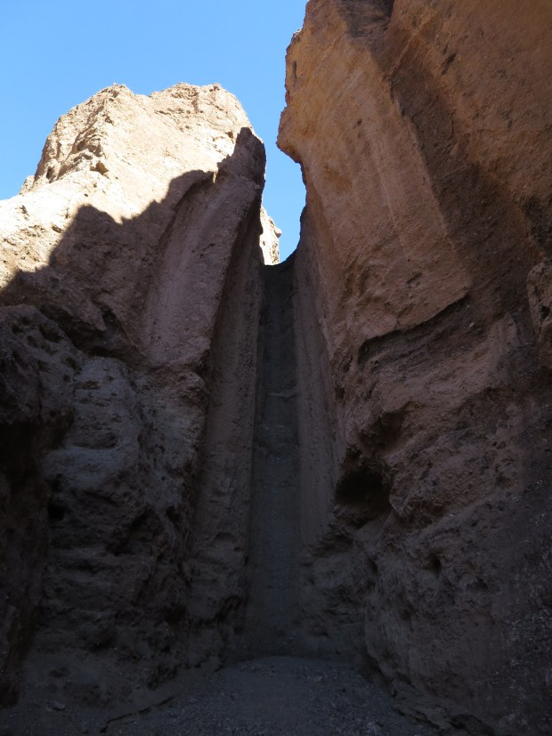 A chute in Natural Bridge Canyon, Death Valley National Park, California