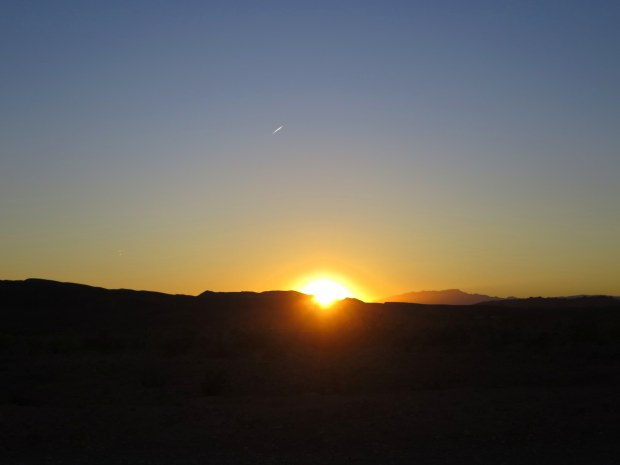Sunset, Government Point, Lake Mead National Recreation Area, Nevada