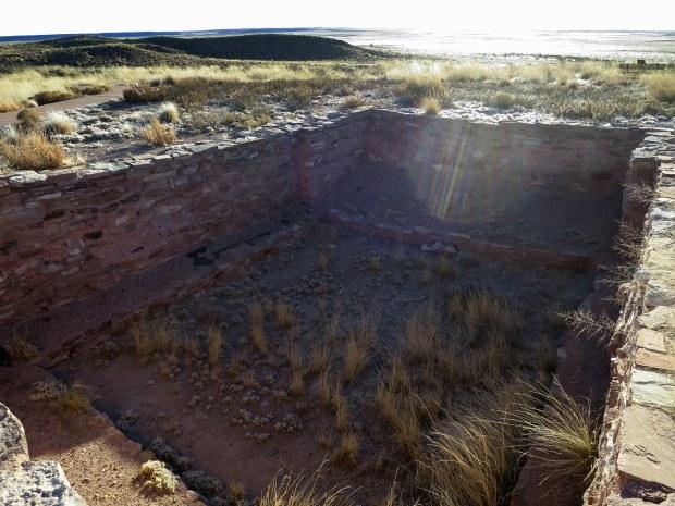 Kiva, Homol'ovi II, Homol'ovi State Park, Arizona