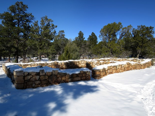 Pueblo, Rim Trail, Walnut Canyon National Monument, Arizona