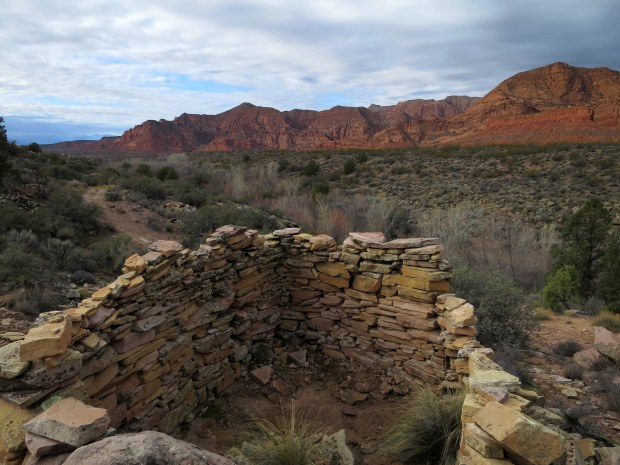 Rock house, Red Cliffs National Conservation Area, Utah