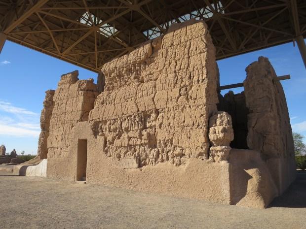 Great House, Casa Grande Ruins National Monument, Arizona