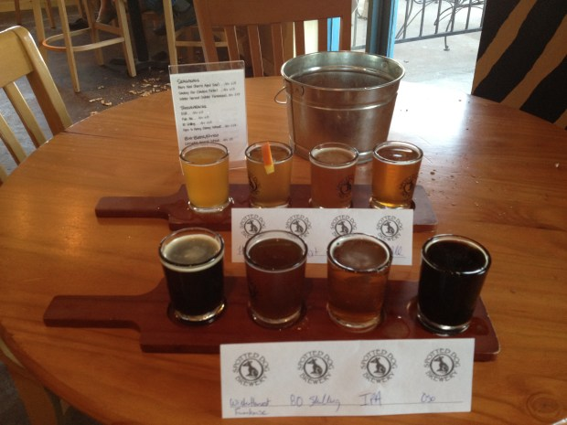 Spotted Dog Brewery, Mesilla, New Mexico