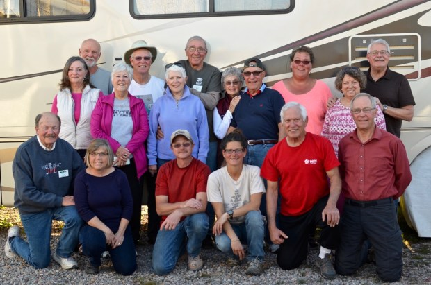 Care-A-Vanner group in our third and fourth weeks at Mesilla Valley Habitat for Humanity, Las Cruces, New Mexico
