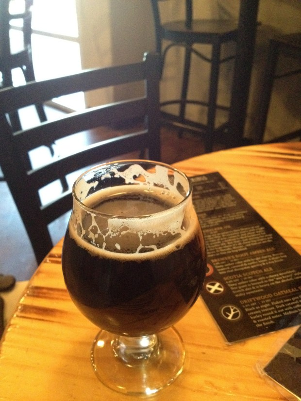 """The surprisingly-crisp and very delicious """"Just for Fun"""" Imperial IPA at Bosque Brewing Company, Las Cruces, New Mexico"""
