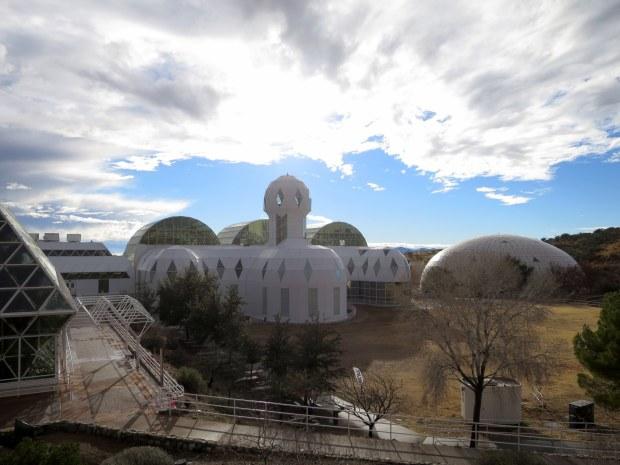 Exterior of Biosphere 2, Arizona