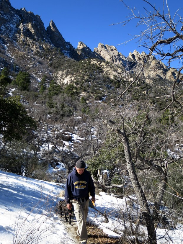 Tom and Abby, Pine Tree Trail, Aguirre Springs National Recreation Area, New Mexico