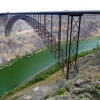 Snake River Canyon and Shoshone Falls