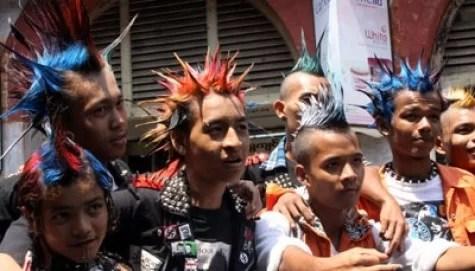 brochette de punks