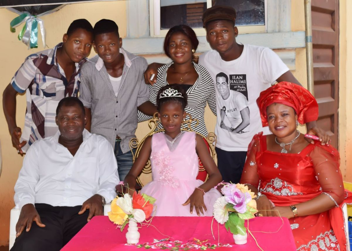 Un Bat-mitzva in Nigeria