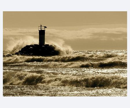 Lighthouse, Port Darlington, Lake Ontario