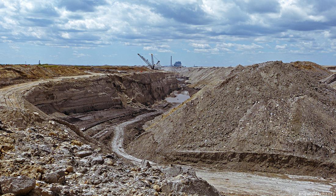 Coal mine in Saskatchewan, Canada.