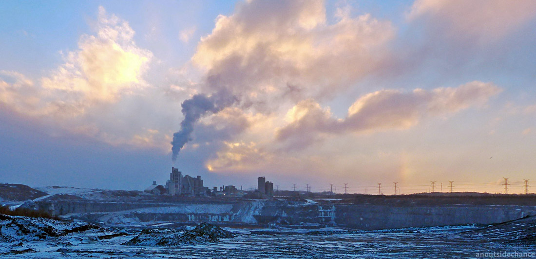 St Mary's  Cement plant in Bowmanville, Ontario