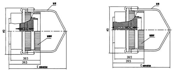 YF11 Circular Separation Electrical Connector series Relay