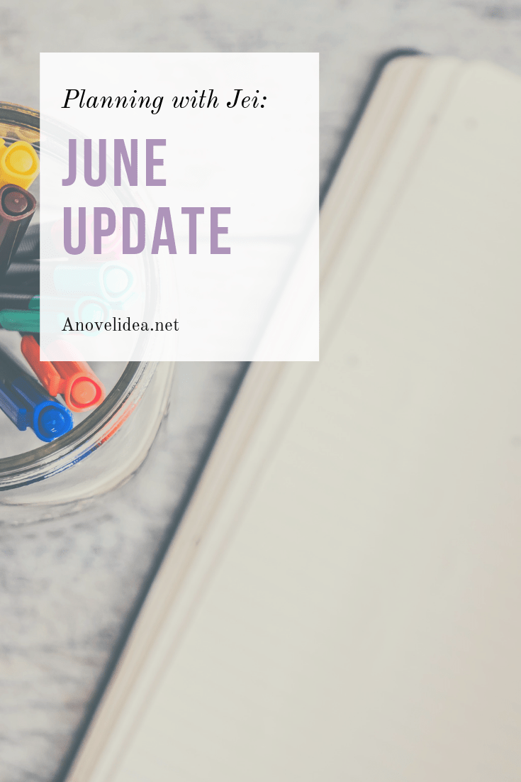Planning with Jei: June Update Pinterest Photo