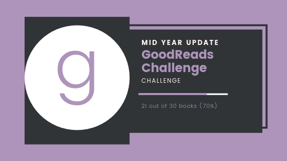 Goodreads Challenge: Mid Year Check In