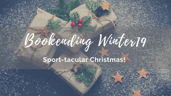 BOOKENDING WINTER 2019: Sport-Tacular Christmas!