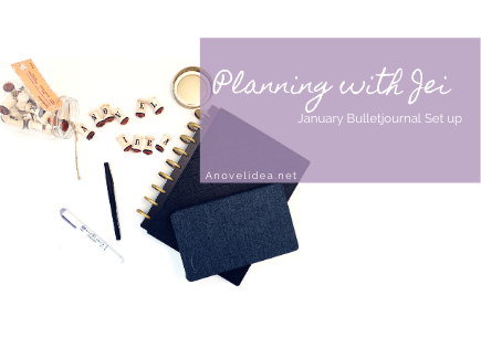 Planning with Jei: Bujo set up