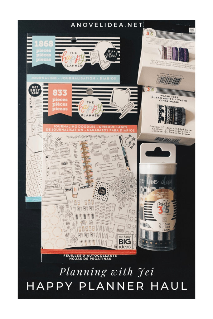 Planning with Jei: Happy Planner Haul pinterest picture