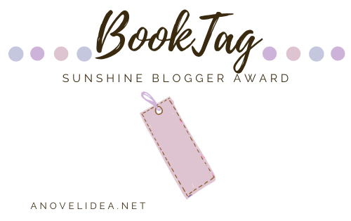 Sunshine Blogger Award Book Tag