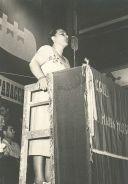 Intervento di Adele Bei in ricordo di Maria Margotti, mondina uccisa durante uno sciopero il 16 maggio 1949