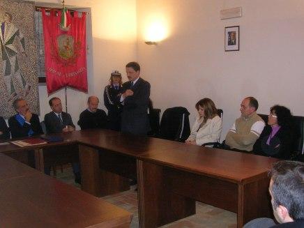 Giulio Pantanetti interviene al Consiglio Comunale di Urbisaglia
