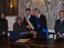 Da sinistra: Dory Bonfiglioli, Roberto Broccolo e Giulio Silenzi