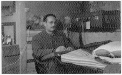 Carlo Alberto Viterbo presso il Campo di Urbisaglia