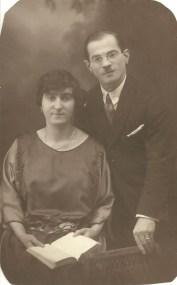 Bertha e Hermann Wartski prima della guerra