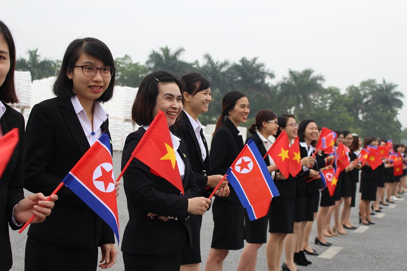Anh1 kju - An Phat Holdings welcome the delegation of North Korean leader KIM JONG UN