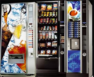 Maquinas de café / vending en una empresa