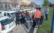 VIDEO: Taxistas movilizaron con reclamos por maltratos al Municipio y al Concejo Deliberante